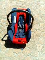 Baby camping cot, baby Carrier and baby car seat