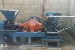 Palm Kernel Oil expeller with palm kernel nuts dryer