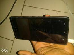 Infinix hot4 lite with a very little crack