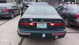 Clean Registered Toyota camry 1999