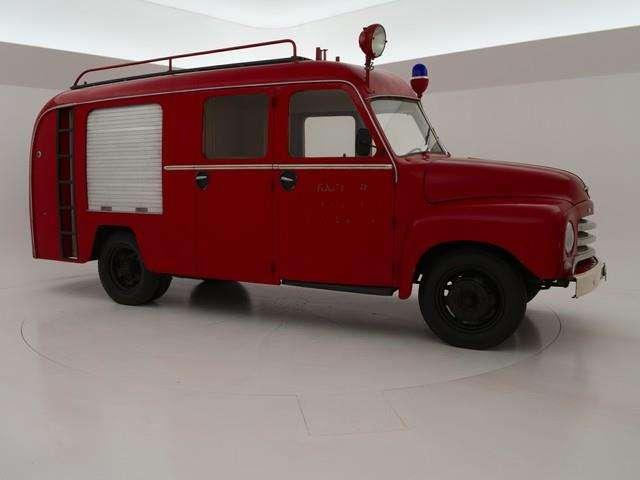 Strålende Opel Blitz BRANDWEER IN ORIGINELE STAAT - 1961 til salg | Tradus DP-78