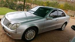 Extremely clean Mercedes Benz E240 in a pristine condition