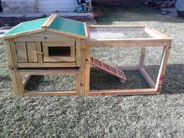 Bunnies cage made