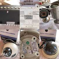 Urgent sale -Used surveillance camera set