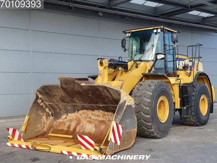 Caterpillar 966KXE German dealer machine - good tyres - 2013