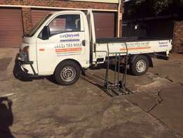 transport available for furniture removal in Pretoria