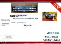 Ford Ranger T6 2012 ONWARDS New Front Grille Chrome for sale PRICE: R