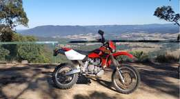 02 Honda xr650 on off road bike for sale lots of power reliable papers