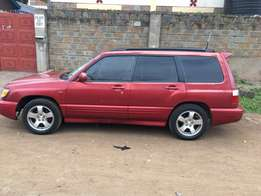 Subaru Forester, buy and drive.