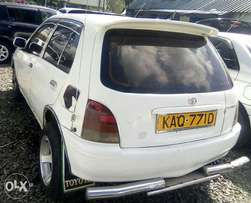 Toyota starlet on sale