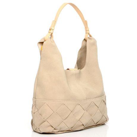 4b9eabfc73e2 Женская замшевая сумка H&M кожаная кроссбоди хобо через плечо шоппер Киев -  изображение 1