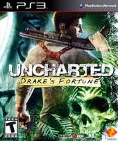 Ps3 Game Uncharted 1 Drake fortune