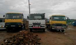 Flat beds and digger's for hiring available at JB MOTORS