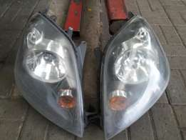2006 to 2008 Ford Fiesta front head lights