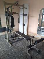 Trojan Power Cage Home Gym,its all you need.
