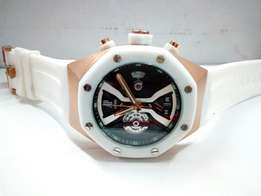 Audemars Piguet Unico Ceramic White