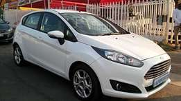 White Ford Fiesta 1.0 Ecoboost Ambiente Automatic For Sale
