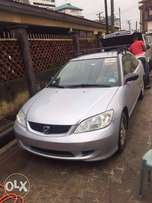 Honda Civic Coupe 2005 model Foreign used for sale.
