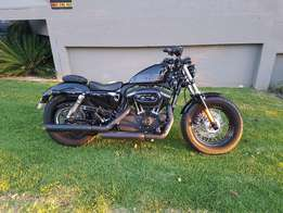 Harley Davidson 1200 Forty Eight 48 Sportster Low Km of 3500 Immaculat