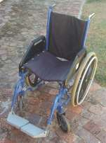 Sturdy wheelchair for adults