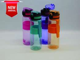 600ml Colour Hard Plastic Water Bottle