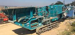 Used 2012 Pegson XH250 Mobile impact crusher