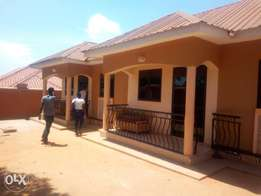 Executive two bedroom house is available for rent in najjera