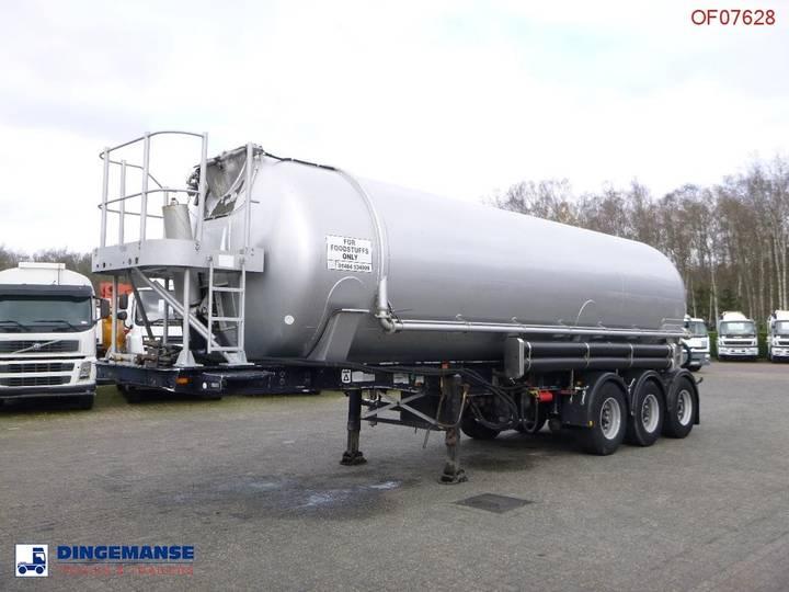 Feldbinder Bulk tank alu 38 m3 (tipping) - 2000