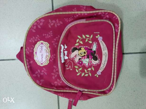 Minnie Mouse Pink Bag For Kids