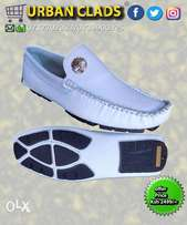 Timberland White Loafers