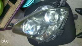 Headlights and taillights sidemirrors etc'