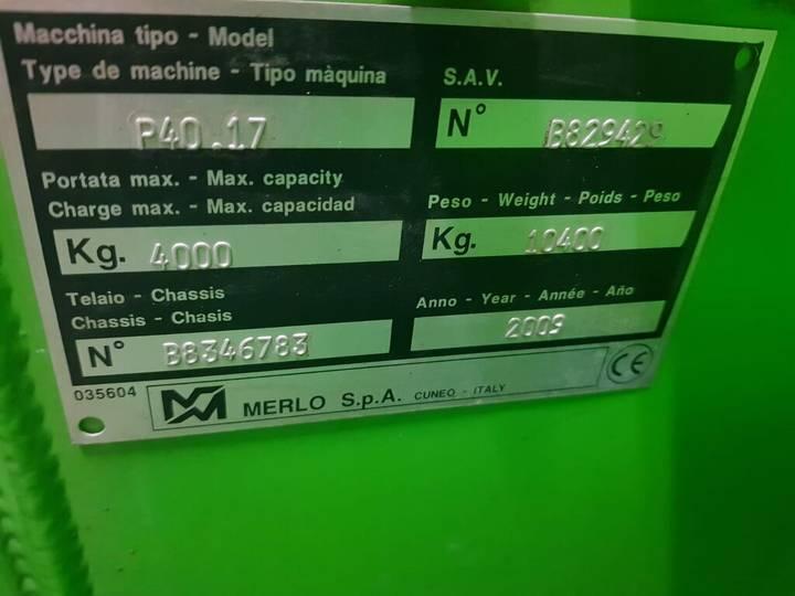Merlo P40. 17 telehandler - 2009