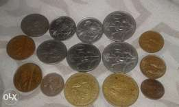 Selling all my South African old coins
