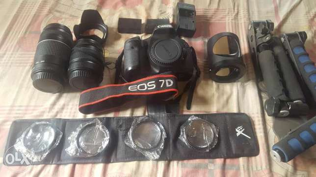 Canon EOS 7d and accessories Abuja - image 4
