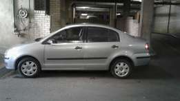 Grey polo 1,6 sedan , very reliable car for sale