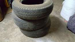 4 used tyres for quick sale