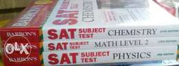 Barron subject test physics, chemistry and mathematics