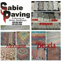 Sabie Paving, suppliers of cement pavers