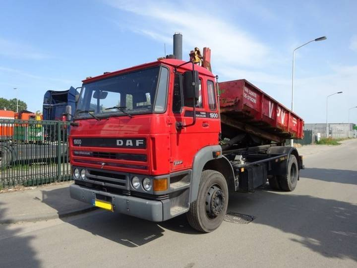 DAF 1900 TURBO !! 47.000 KM !! - 1989