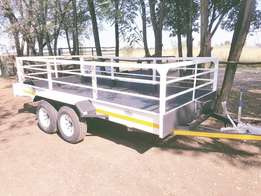 New 4m Utility trailers R31500