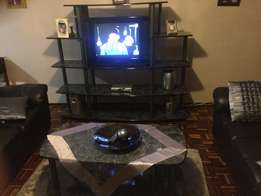 Tv stand with coffee table