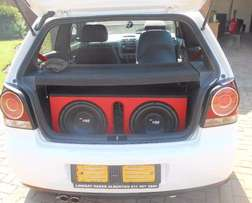 R25000 Polo vivo GT 3door Start and go with heavy Sound excellent cond