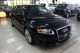2006 Audi A4 2.0L TFSi DTM 5 Door in Black
