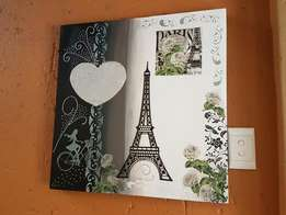 Paris - Mix medium canvas