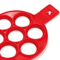 7 holes Non Stick Flipping Fantastic Silicone Fried Egg Pancake Maker