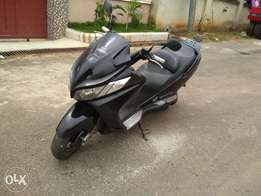 well maintained suzuki burgman 250cc 2006 model