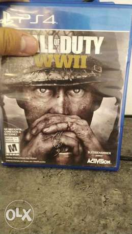 Call of duty WWII 130alf used like new