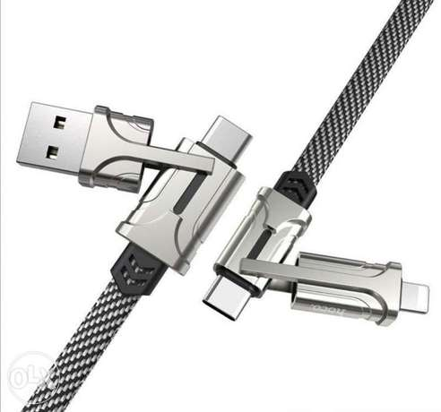 Hoco 4-in-1 Charging Cable