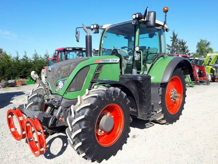 Fendt 716 profi plus rtk - 2013
