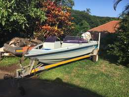 Mallards Swift Bowrider 15'6 with Suzuki 85hp